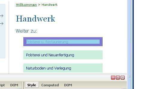 BILD 2 (zeigt auf a) - (html, CSS, abstand)