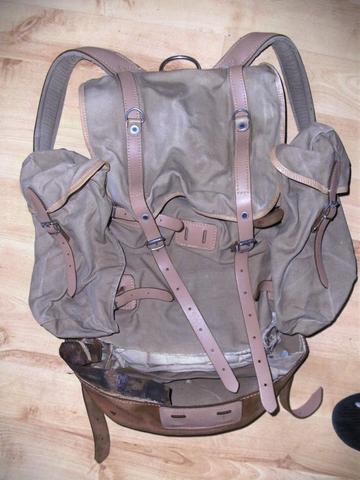 Der Rucksack - (Haushalt, nähen, Stoff)