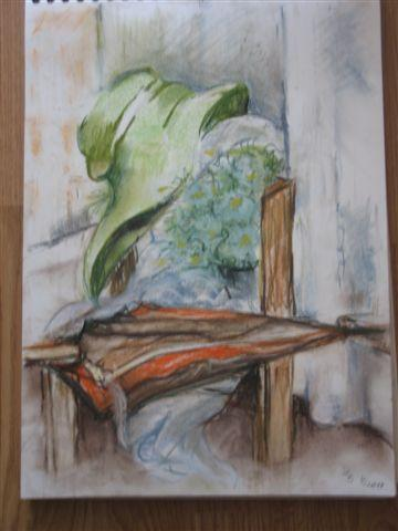 Alte Klamotten - (Schule, Kunst, malen)
