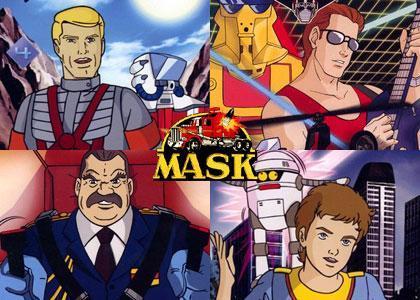 MASK - (Anime, 80er-Jahre)