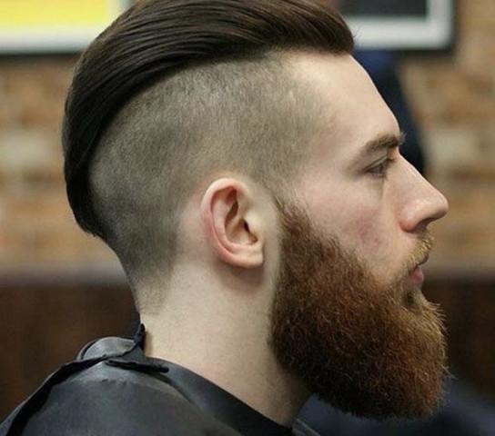 Friseur Undercut Vs übergang Haare Uebergang