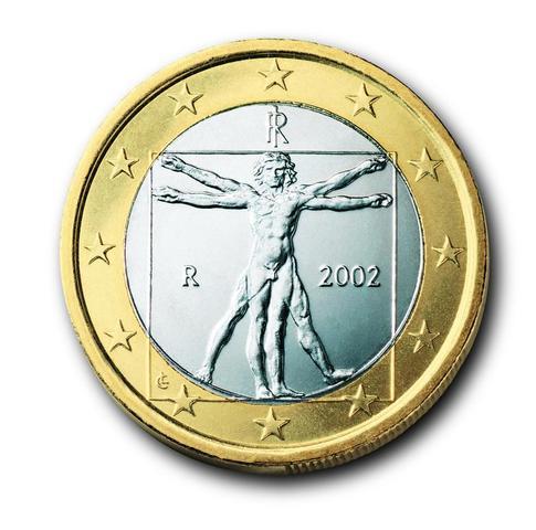 1 Euro von Italien - (Länder, Euro, Münze)