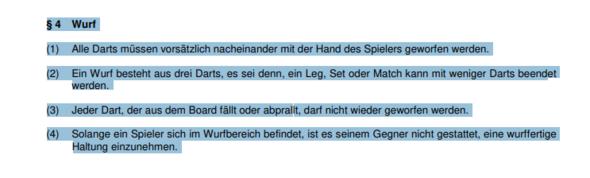 - (Sport, Dart, Dartscheibe)
