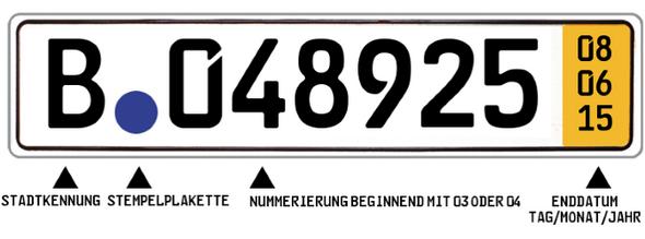 - (Auto, KFZ, Kennzeichen)