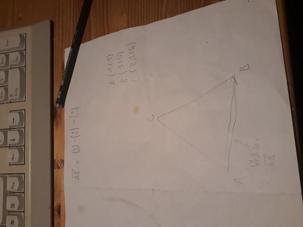 wie berechnet man eine fl cheninhalt eines dreieckes bei. Black Bedroom Furniture Sets. Home Design Ideas