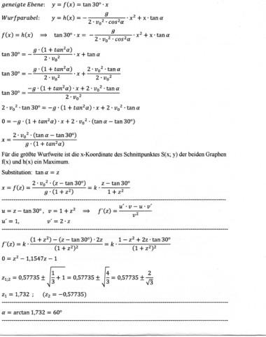 - (Physik, Aufgabe)