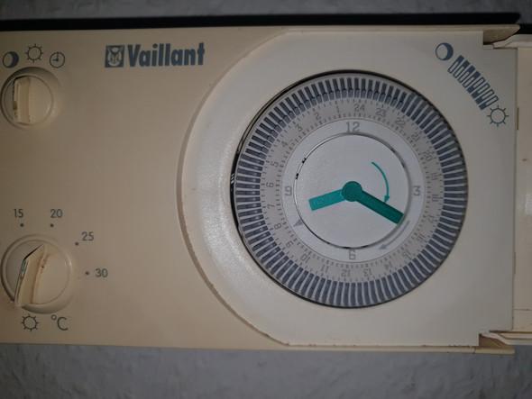 Regelung Verstellt Heizung Aus Wasser Eisig Kalt Gas Thermostat