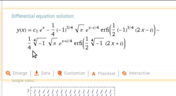 Komplizierte Mathematische Formel