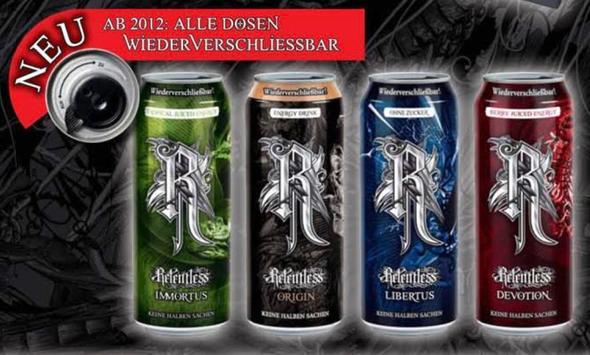 Relentless Energy Drink? (Energie, Getränke, rockstarenergy)