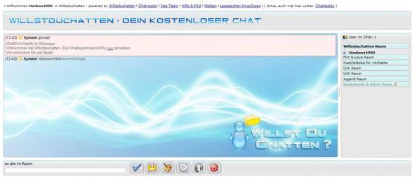 Kostenlos chatten ohne Anmeldung auf Willstduchatten.de - (Internet, Chat)