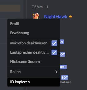 Discord User Melden