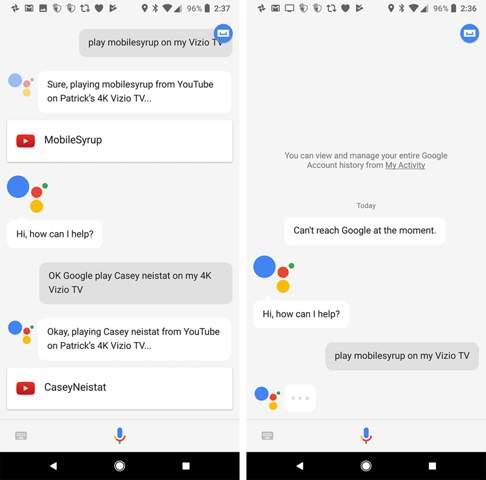 Google Assistant öffnet Egal Was Ich Sage Google Computer