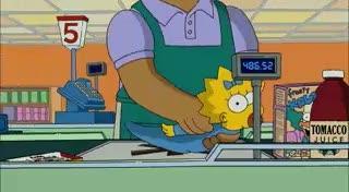 nach Maggie - (Simpsons)