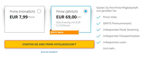 Kosten Prime