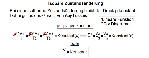 gasgesetze physik