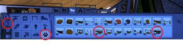 Pferdebox - (Pferde, Sims 3, Stall)