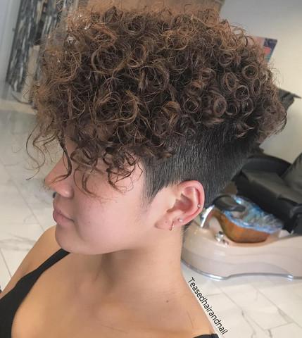 Dauerwelle manner lange haare