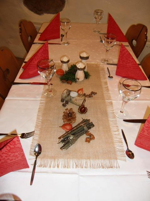 Ideen für Tisch-Deko für Essen mit Freunden? Hilfe ich kann sowas ...
