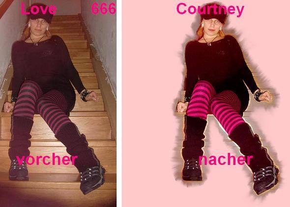 vorcher-nacher - (Bilder, Foto, Make-Up)