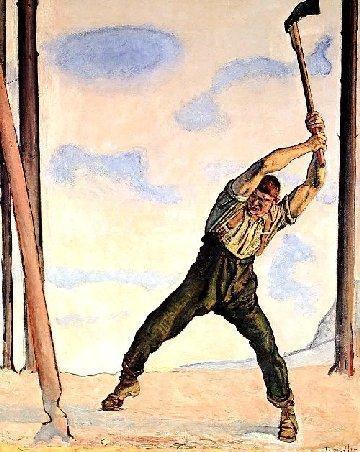 von Ferdinand Hodler (1910)  - (Kunst, Künstler, Malerei)