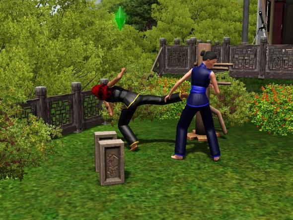 sparren - (Sims 3, Sims, Reiseabenteuer)