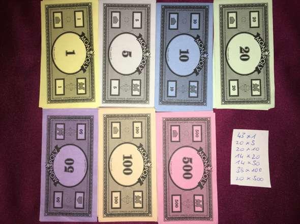 Monopoly Wieviel Geld Bekommt Jeder