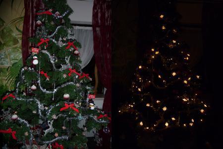Unser Weihnachtsbaum :) - (gutefrage.net, Weihnachten, Weihnachtsbaum)