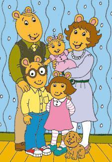 arthurs familie - (Tiere, Zeichentrick, Kinderserie)