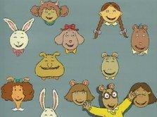 arthur und freunde - (Tiere, Zeichentrick, Kinderserie)