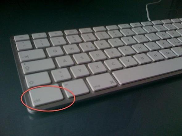 Sieht so aus... - (Computer, Apple, Tastatur)