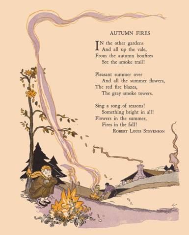Kennt Ihr Ein Englisches Herbst Gedicht Deutsch Lyrik