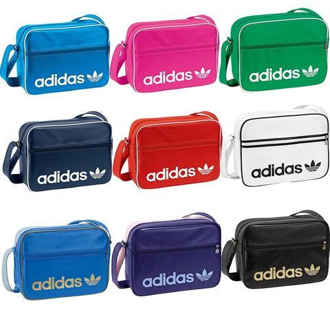 adidas AC Airline Bag Tasche Umhängetasche X25410 lila on