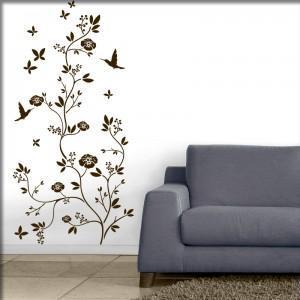 habt ihr irgendwelche guten blumenmuster f r die wand haus. Black Bedroom Furniture Sets. Home Design Ideas