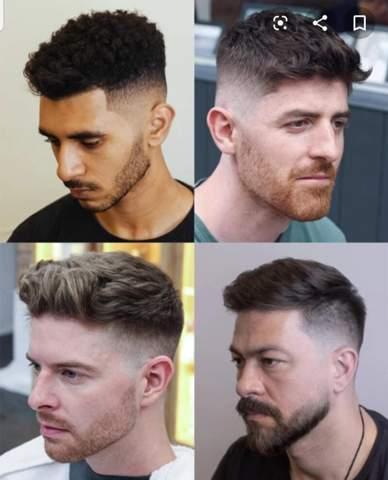 Kurzhaar Frisur Für Mann Friseur