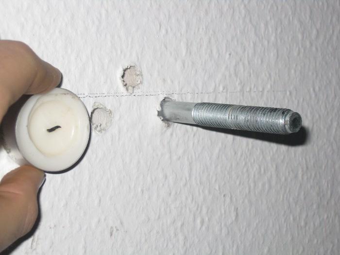 ankerbolzen aus wand entfernen handwerk handwerker. Black Bedroom Furniture Sets. Home Design Ideas
