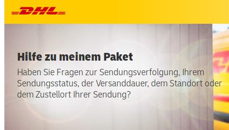 - (DHL, DHL Paket, Packstation)