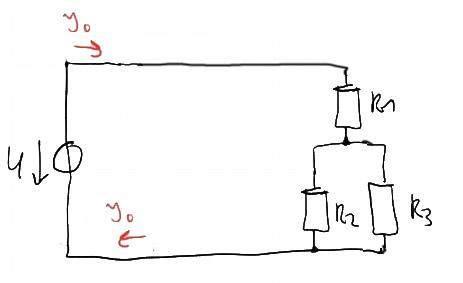 Gemischte Schaltung: Stromstärke berechnen? (Schule