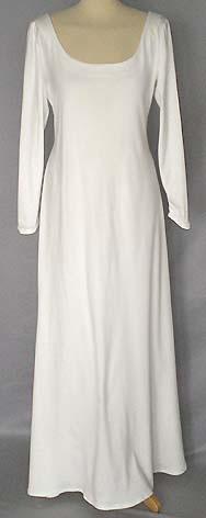 Sehr schlichtes Kleid - (Hochzeit, Brautkleid, hochzeitskleid)