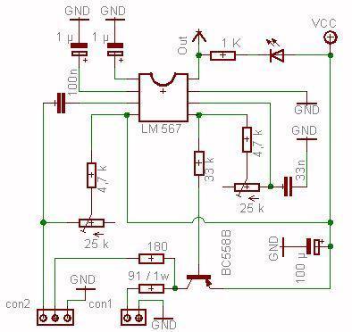 Optischer Rauchmelder --> Simpler Schaltplan (Technik, Elektronik ...