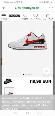 Nike Air Max richtig bindenschnüren (Mode, Schuhe