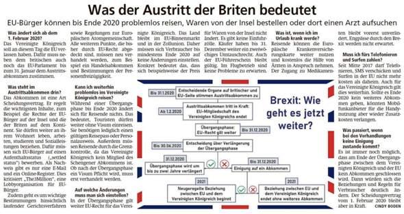 Auswandern England Nach Brexit