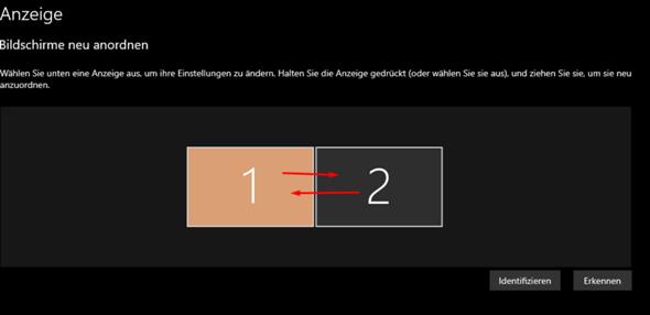 Windows 10 2 Bildschirme Tauschen