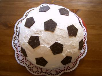 Rezept Fur Einen Handballkuchen Sport Backen Kuchen