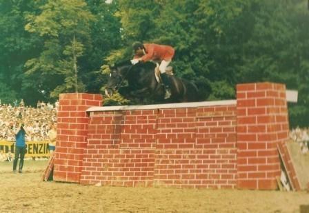 Andreas Werft in Verona 1997 (Sieger mit 2,25m) - (Pferde, Reiten, Reitsport)