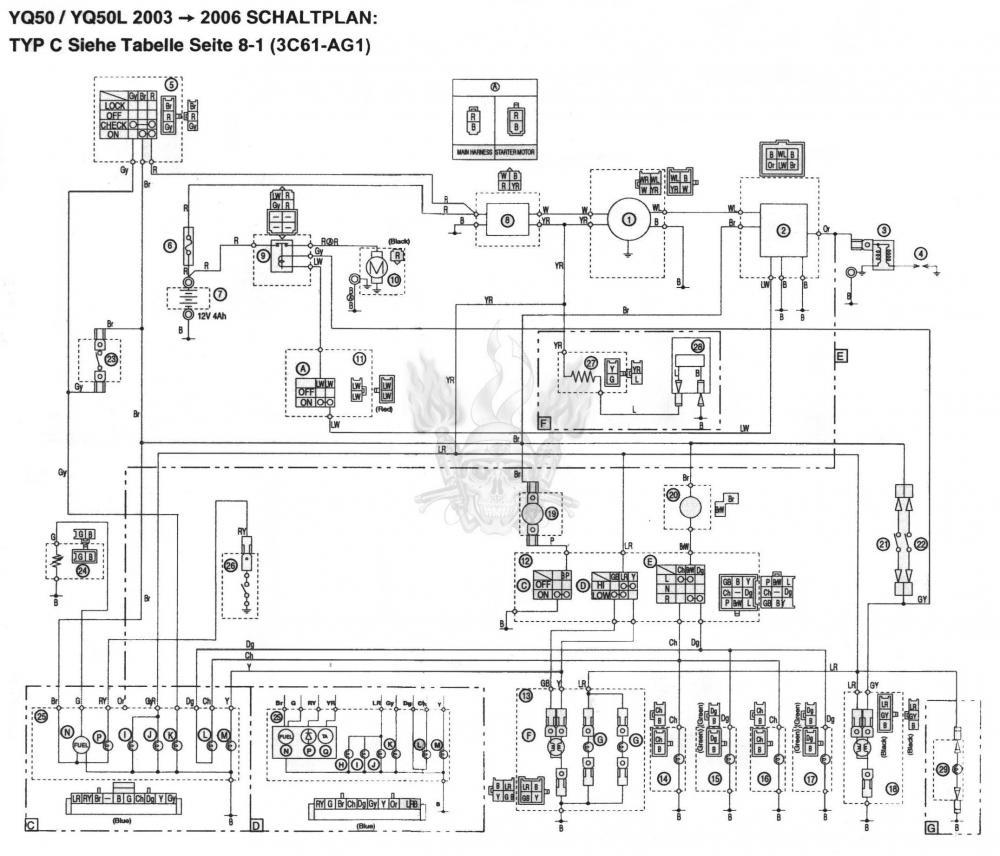 Ausgezeichnet Yamaha Außenbord Tachoschaltplan Bilder - Der ...