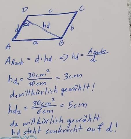 - (Schule, Mathe, Raute)