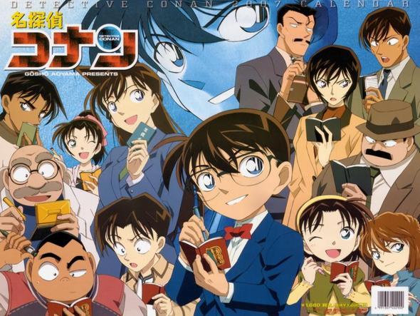 Detektiv Conan Folge 334 In Deutschdub Anime Manner Schwarz