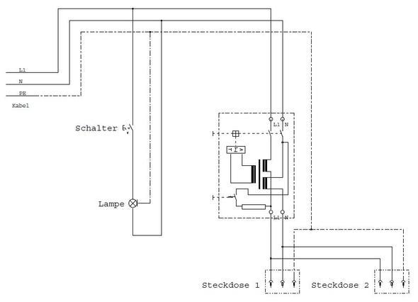 schaltplan lichtschalter steckdose. Black Bedroom Furniture Sets. Home Design Ideas