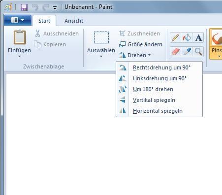 Bild spiegeln - (PC, Spiegel)