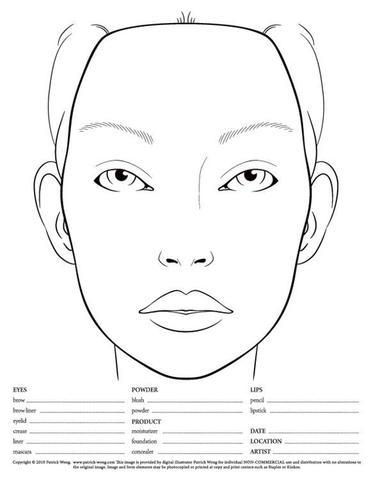 Gemütlich Gesicht Malen Vorlagen Galerie - Entry Level Resume ...